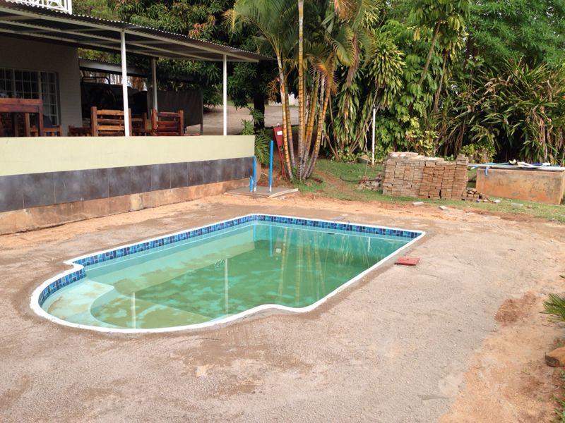 Fiberglass swimming pool Waterboys